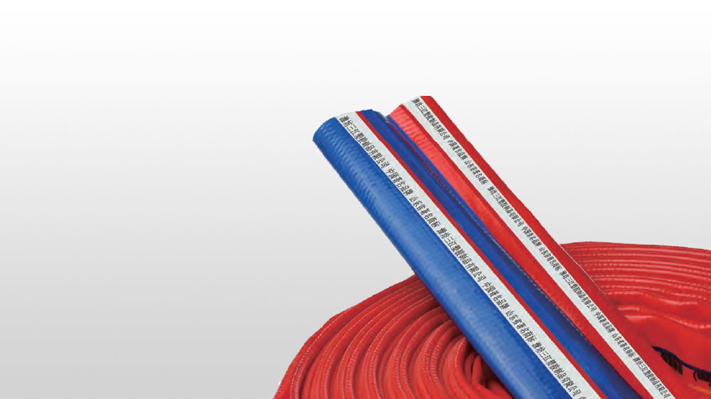 Special high strength water hose of PVC polyester fiber