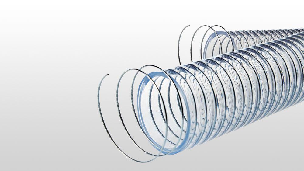 high temperature steel spiral reinforced hose