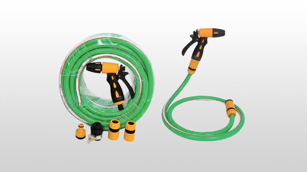 PVC高强度涤纶纤维增强洗车管