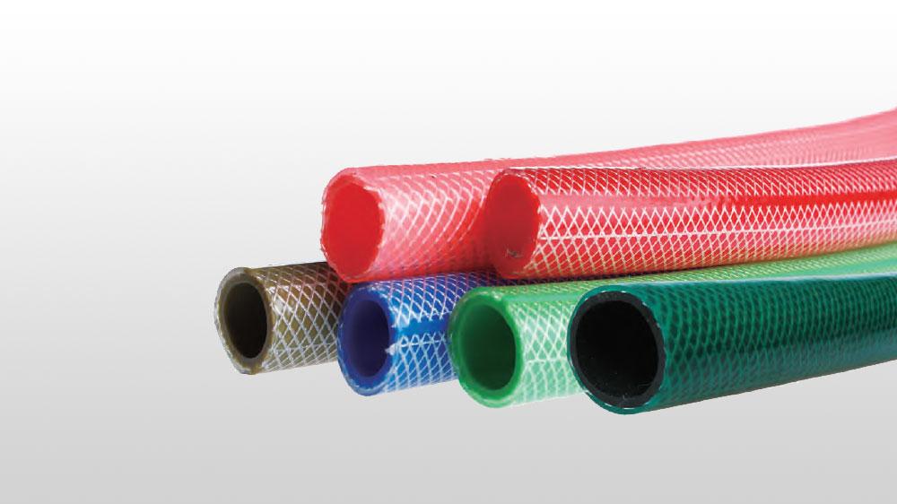 PVC高强度涤纶纤维增强花园管