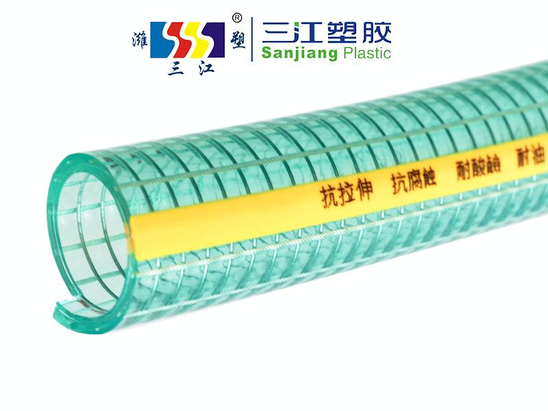 特制抗拉伸防对折高透明钢丝管