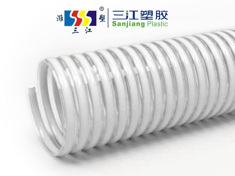 无塑化剂食品级专用螺旋塑筋增强软管