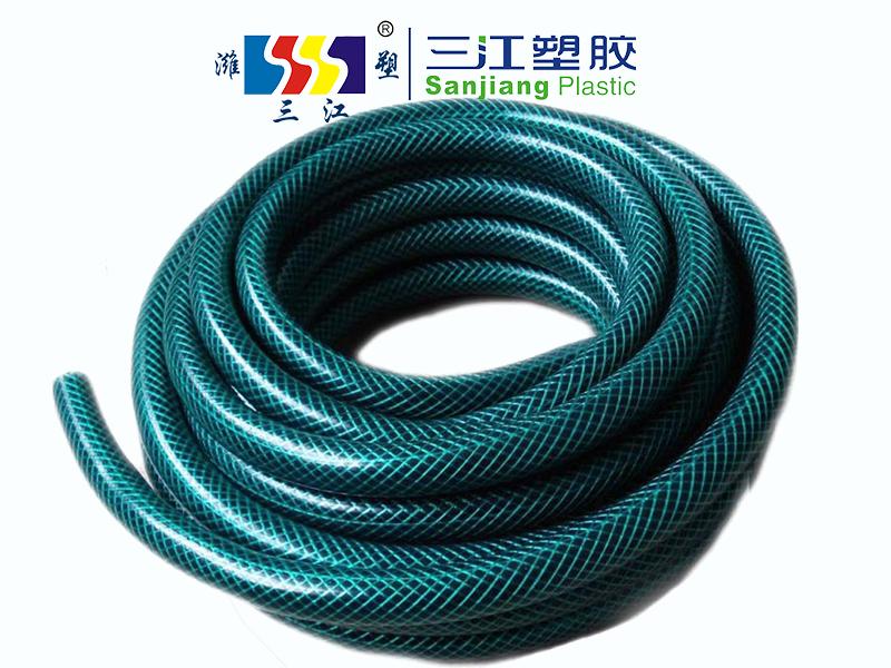 外贸品质PVC花园水管绿色花园软管环保无毒PVC水管