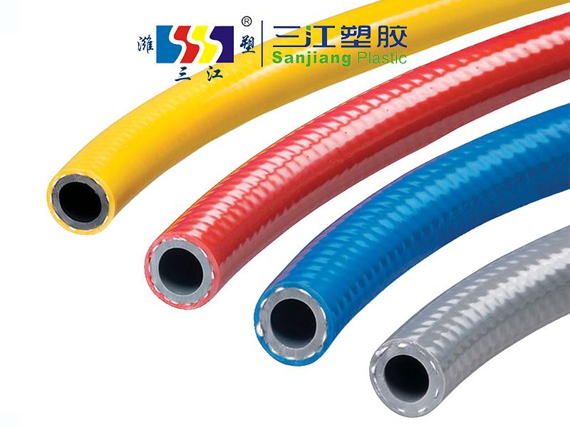 PVC高强度涤纶纤维增强高压空气软管